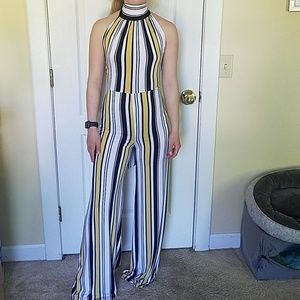 Charlotte Russe Other - Striped Jumpsuit